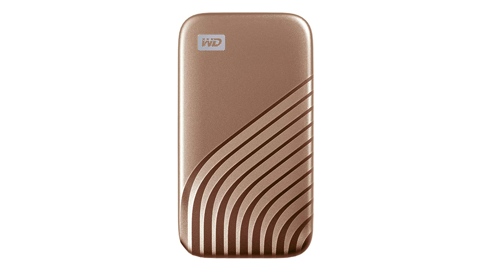 WD ポータブルSSD 1TB ゴールド