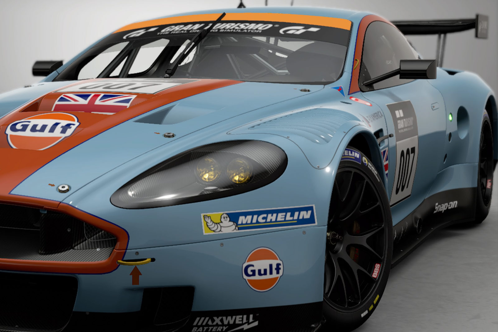 GT SPORT added DBR9.